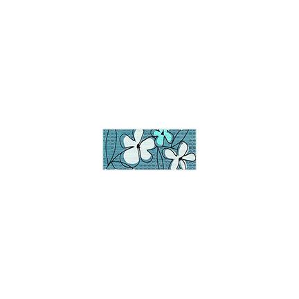 Կարնիզ 10x25 ANDINA AZUL LIST GRA