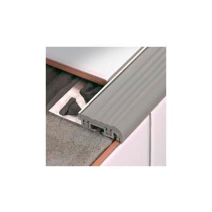 FSF100A / Stair FSF Allum/Sin Grigio/Nero C. H=10 mm, L=2,7 m, Reninflex