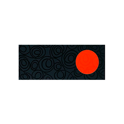 Դեկոր 20x50 Chardonet Negro-Naranj