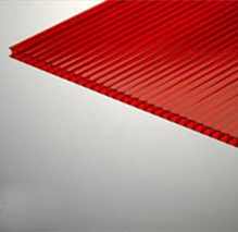 Պոլիկարբոնատ Ինֆրո-կարմիր 2100x6000x8 մմ