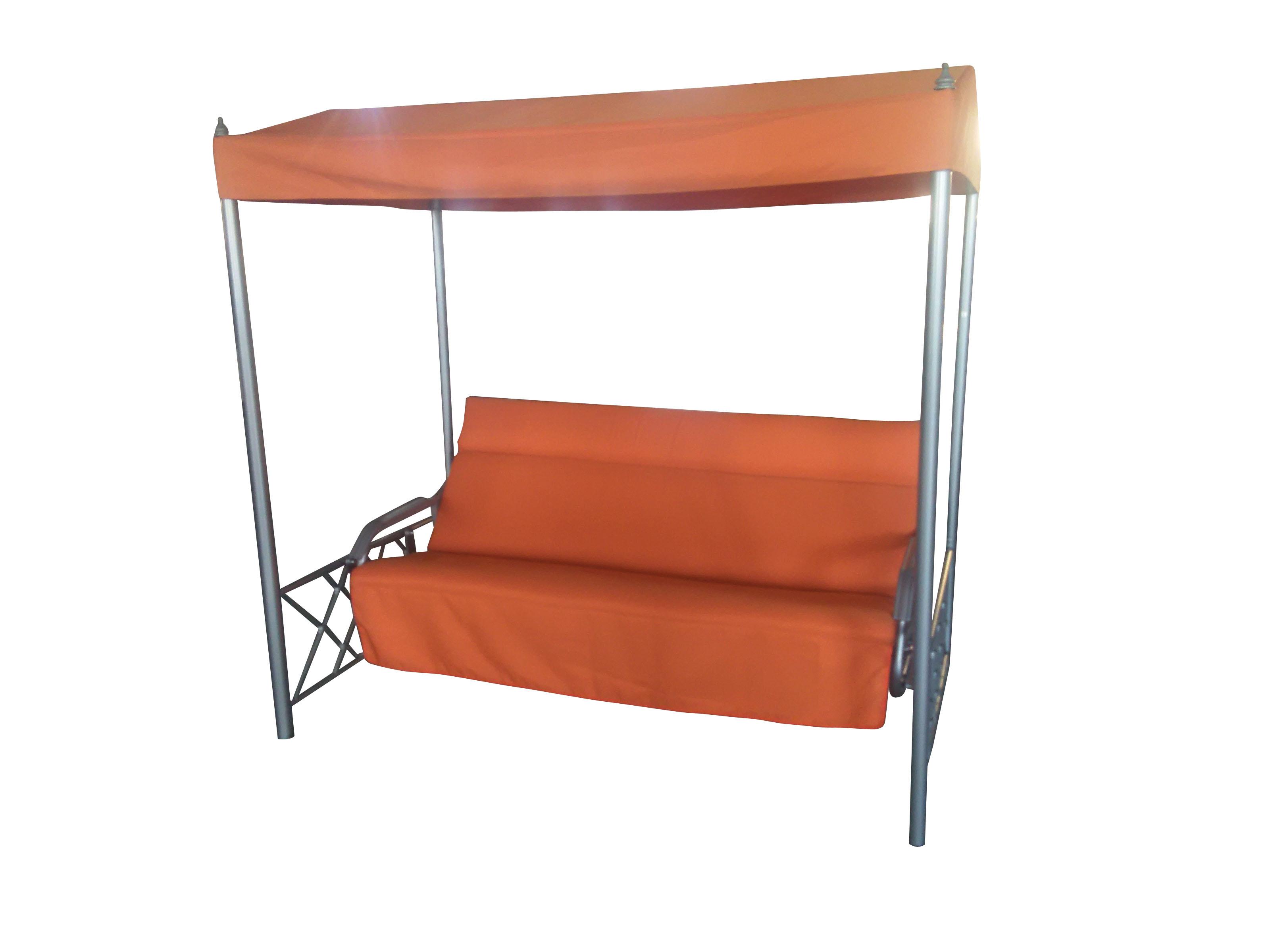 Նստարան ճոճվող SW01 Delux Patio Chair նարնջագույն