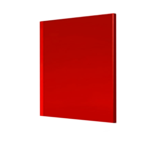 Պոլիկարբոնատ մոնոլիտ 3 mm կարմիր  2.05*3.05